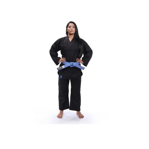 Imagem de Kimono Torah Kung Fu Reforçado Preto - Adulto