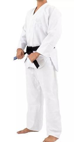 Imagem de Kimono Torah Trançado Flex Jiu Jitsu  A3 - Branco