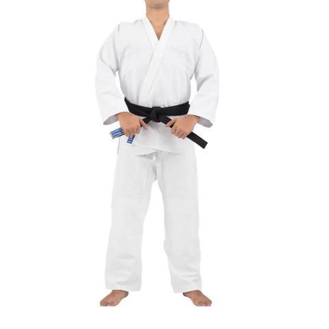 Imagem de Kimono Torah Trançado Training Judô / Jiu-Jitsu Adulto - Branco
