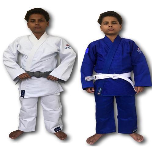 Imagem de Kimono Trançado Plus Torah Judô - Infantil