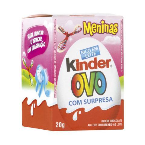 Imagem de Kinder Ovo Menina 20g - Ferrero