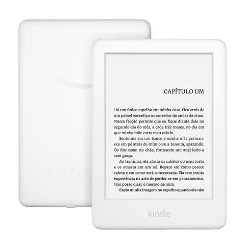 Imagem de Kindle 10ª Geração Amazon, Branco, 4GB,Wi-Fi, Tela de 6