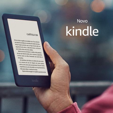 """Imagem de Kindle 10a. geração Tela 6"""" 4GB Wi-Fi com iluminação embutida"""