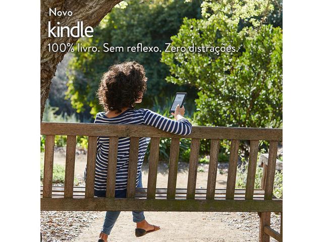 """Imagem de Kindle 8ª Geração Amazon Tela 6"""" 4GB Wi-Fi"""