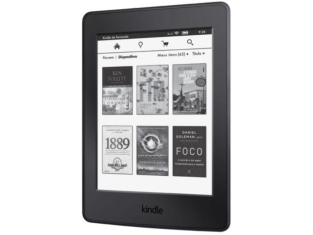 "Imagem de Kindle Paperwhite Amazon Tela 6"" 4GB Wi-Fi"