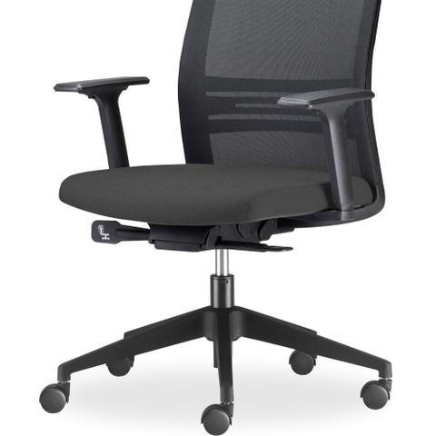 a3f2d2fd1 Imagem de Kit 02 Cadeiras de Escritório Giratória Presidente Com Apoio de  Cabeça Agile Preto -