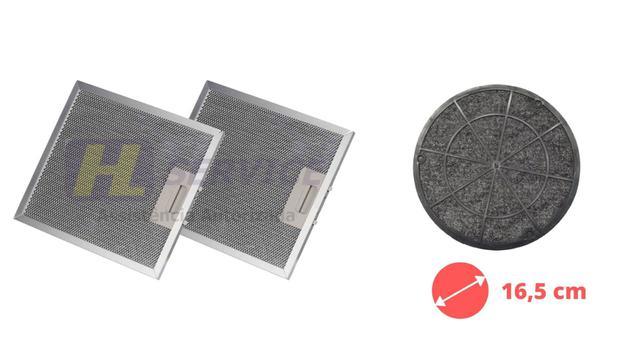 Imagem de Kit 02 Filtros Tela + Filtro Carvão Depurador SLIM SUGGAR 27,8 x 31,6 cm