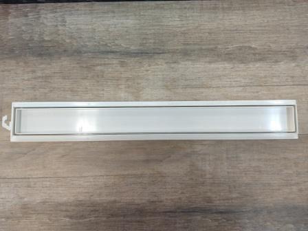 Imagem de Kit 02 Ralo Linear Invisível 50cm Tigre Banheiros Sacada