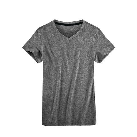 Imagem de Kit 05 Camisetas Masculina Camisa Slim Fit Lisa Basic Basica