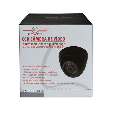 Imagem de Kit 05 PeÇas - Câmera De SeguranÇa Ccd 24 Leds Preta - Ap3688ir-b