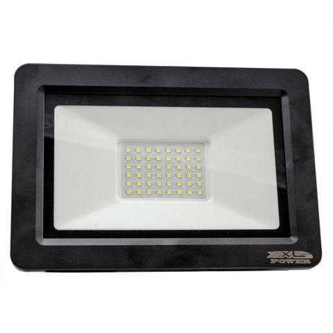 Imagem de Kit 05 pecas - holofote refletor led 100w branco frio 6500k bivolt