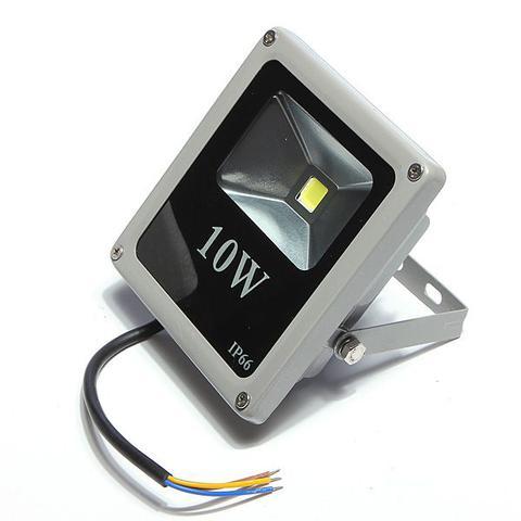 Imagem de Kit 05 Pecas - Holofote Refletor Led 10w Rgb   Controle Remoto Bivolt