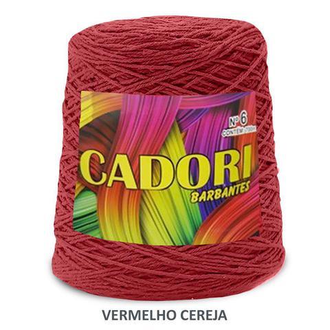 Imagem de kit 1 Barbante Cadori N06 - 700m Vermelho