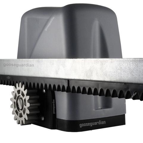 Imagem de Kit 1 Motor Rossi Dz Nano Turbo 3m Crem 4 Control 1 Plug P/ Portão Deslizante 600kg