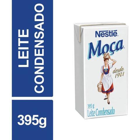 Imagem de Kit 10 Caixas Leite Condensado Moça SEMI-DESNATADO Nestlé 395g