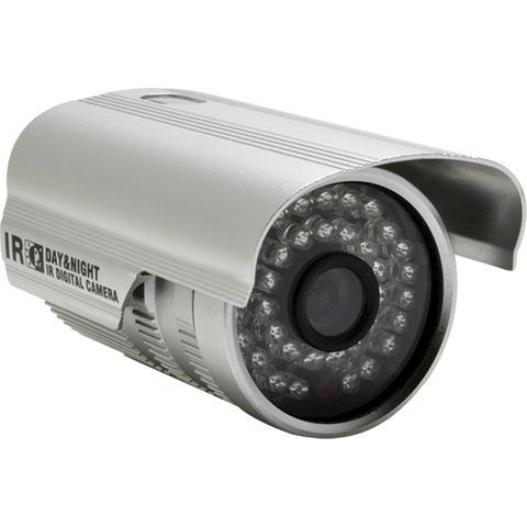 Imagem de Kit 10 Câmeras De Segurança ccd 36 leds Infra 1000 linhas 3,6mm com suporte fonte e conector - AP-8809