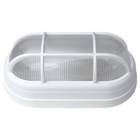 Imagem de Kit 10 Luminária Arandela Tartaruga Externa Teto e Parede Soft Bocal E27 40W 250V Branca