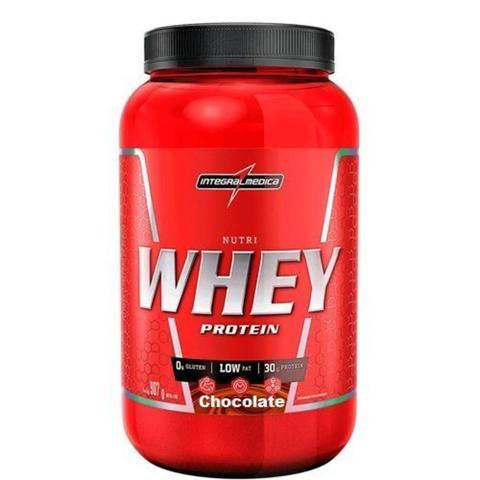 Imagem de Kit 10 Nutri Whey Protein - 907g Chocolate - IntegralMédica