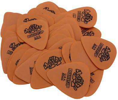 Imagem de Kit 10 Palhetas  Dunlop Tortex Cores e espessuras variadas para Guitarra, Violão, Ukulele, Cavaco e Baixo