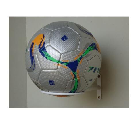 Imagem de Kit 10 Suporte De Parede P/ Bolas(futebol/basquete/ Volei)
