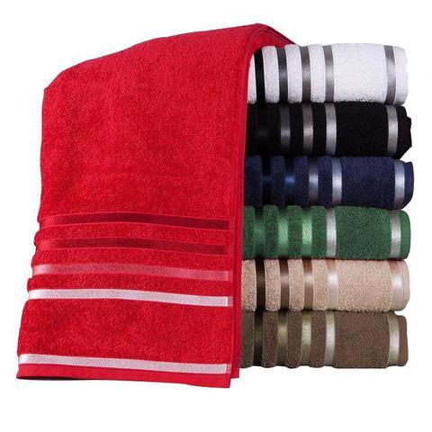 Imagem de kit 10 toalha de banho jogo de toalha de algodão jogo de banho