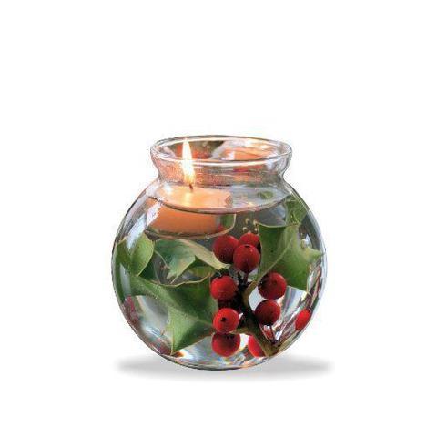 Imagem de Kit 10 Vasos Castiçal Aquário De Vidro 500ml Decoração