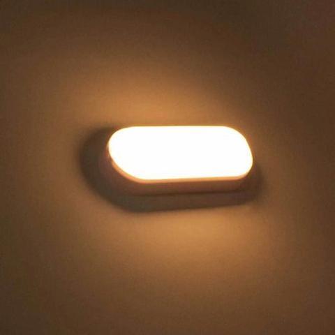 Imagem de Kit 12 Arandela Tartaruga Led 8w Luz Branca Com Garantia