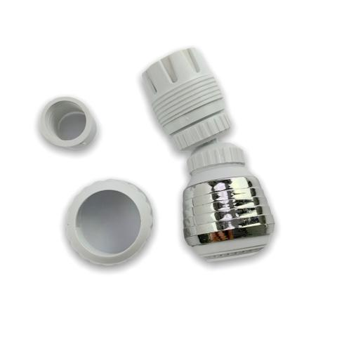 Imagem de Kit 2 Adaptador De Torneira Ajustável Prolongador Extensor Pia Cozinha Banheiro