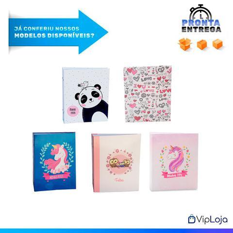 Imagem de Kit 2 Álbuns Infantis Reb 300 Fotos 10x15 Ical Urso