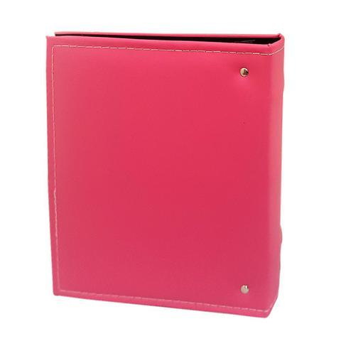Imagem de Kit 2 Álbuns Prestige Fl Preta Jan 200 Fotos 10x15 Rosa
