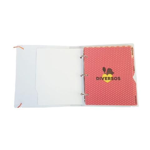 Imagem de Kit 2 Álbuns Receitas Ical 50 Folhas 15x21 Coração
