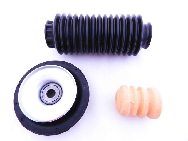 Imagem de Kit 2 Amortecedor Cofap + 2 Kits Coxim VW Gol Parati Saveiro Bola Dianteiros