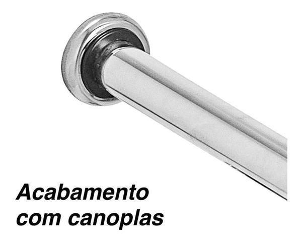 Imagem de Kit 2 Barras De Apoio Para Banheiro De Idoso 40cm E 60cm