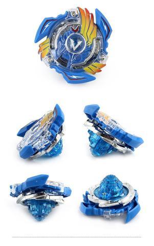 Imagem de Kit 2 Beyblade Burst + 4 Lançadores Valtryek Vs Gaianon Tornado Gyro