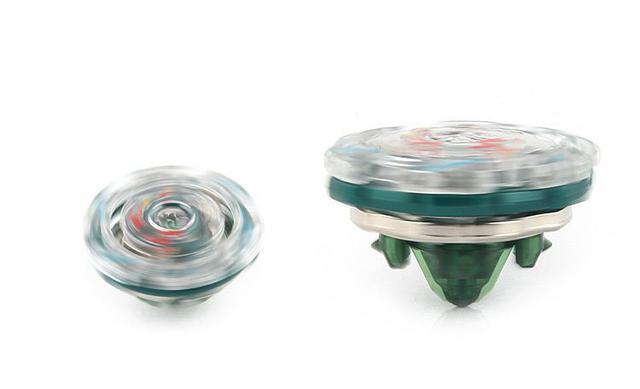 Imagem de Kit 2 Beyblade Burst + 4 Lançadores Valtryek Vs Kerbeus Tornado Gyro