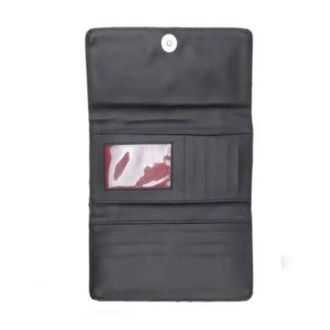 Imagem de Kit 2 Bolsas Handbag e Flap Feminina Lisa Com Carteira