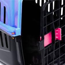 Imagem de Kit 2 Caixas De Transporte Alça Porta Gatos Coelhos N2