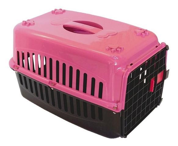 Imagem de Kit 2 caixas de transporte Cachorro Gatos n2 e n3