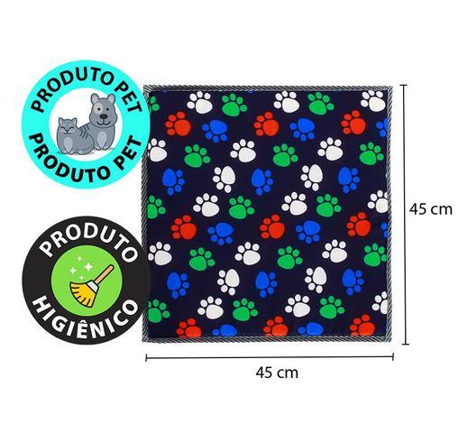 Imagem de Kit 2 Colchonete Almofada Pet Para Cachorro e Gato Lavável 45x45cm Bf Colchões