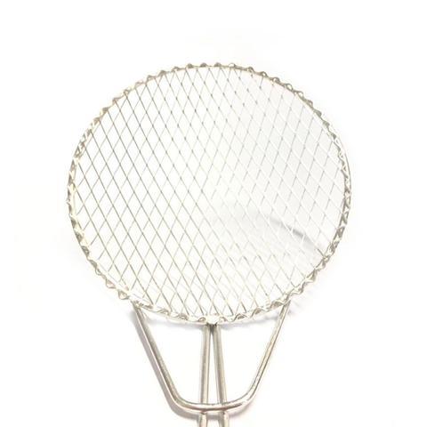 Imagem de Kit 2 Escumadeira Fritura 18 cm Resistente Batata Pastel