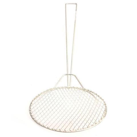 Imagem de Kit 2 Escumadeira Fritura 22 cm Resistente Batata Pastel