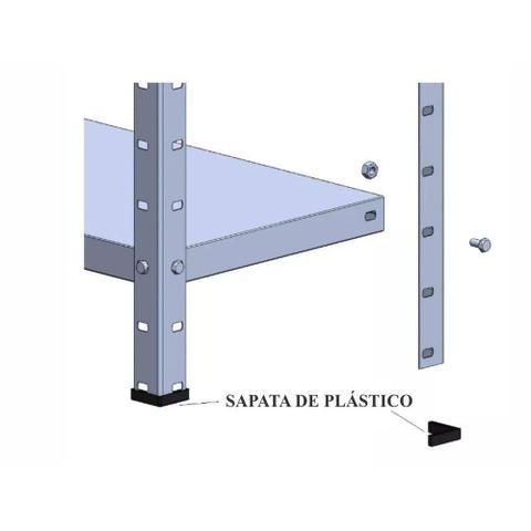 Imagem de Kit 2 Estante c/ 6 Prateleiras Aço Reforçado Multiuso Lopes