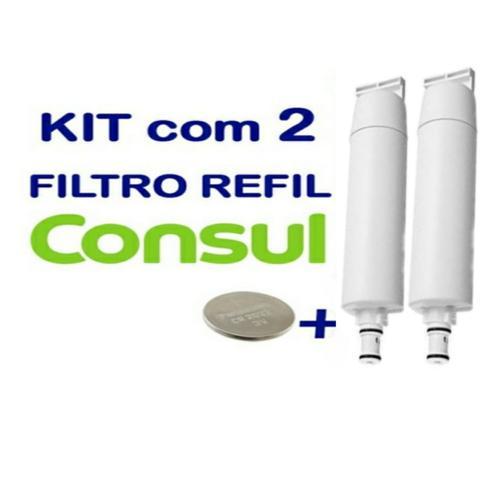 Imagem de Kit 2 Filtro Refil Consul Compativel Cpc31 Cpb34 Cix06ax