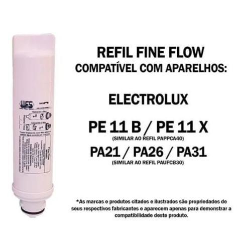 Imagem de Kit 2 Filtro Refil Electrolux Purificador Pe11b/x Pappca40