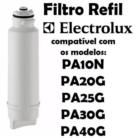 Imagem de Kit 2 Filtro Refil Para Purificador de Água Electrolux PA10N, PA20G, PA25G, PA30G e PA40G