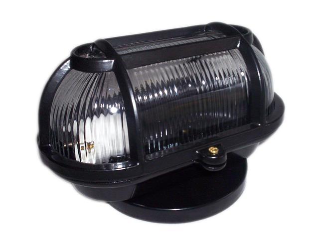 Imagem de Kit 2 Luminaria FM cod 501 Tartaruga Aluminio Vidro Transp Preto