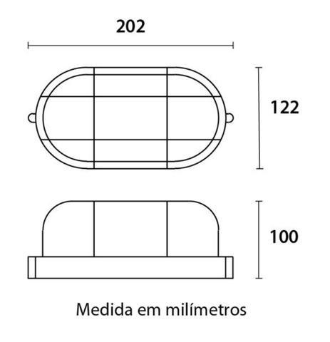 Imagem de Kit 2 Luminárias Led Arandela Spot Sauna Úmida Vapor Parede Blindada Redonda Tartaruga Clean