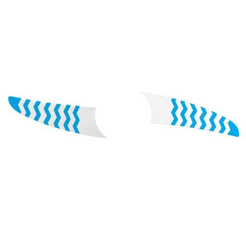 Imagem de Kit 2 Pás Spirit Listrado Zigzag Azul Wwr14