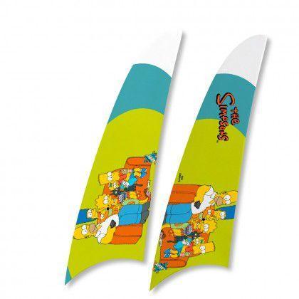 Imagem de Kit 2 Pás Spirit Os Simpsons Familia No Sofá Verde Ts05