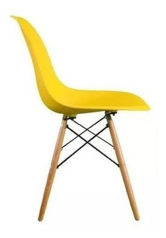 Imagem de Kit 2 peças cadeira charles eames wood design dsw